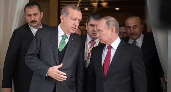 Путин и Эрдоган: телефонные звонки ничего не изменят ставим точку