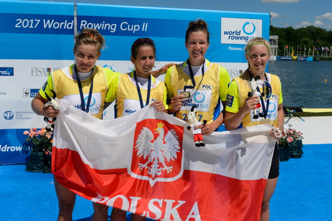 Two victories for Poland in rowing World Cup