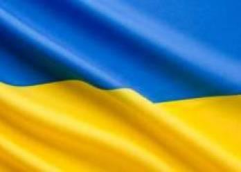 День Соборности в Запорожье отметили разворачиванием 25-метрового флага и живой цепью на мосту через Днепр