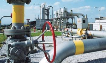 Ukraine's gas stocks 21 процентов down in heating season so far