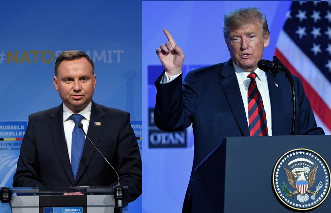 Polish, US presidents to meet at White House in September?