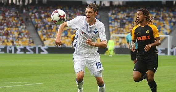 Динамо - Янг Бойз: Команды играют вничью в Киеве