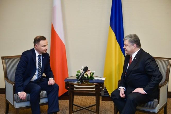 Розпочалася зустріч Президентів України та Польщі