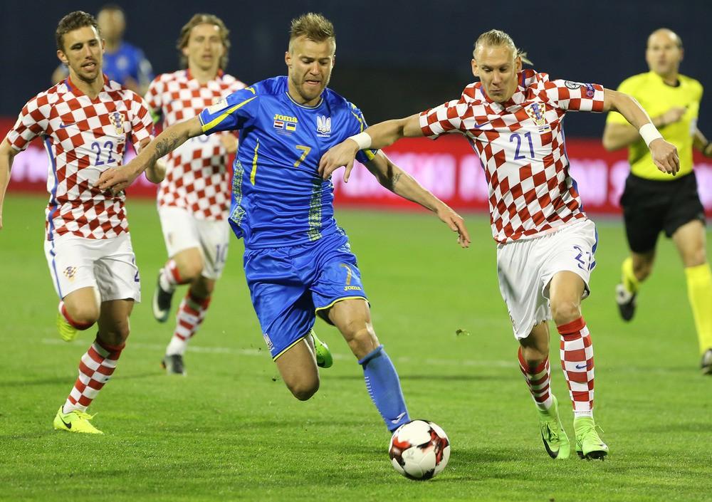 Рейтинг ФИФА: Украина опустилась на 30 место