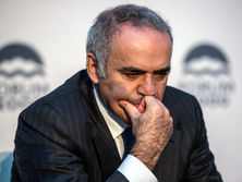 На турнире Grand Chess Tour Каспаров набрал 16 очков в 36 партиях