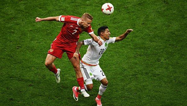Сборная России по футболу не вышла из группы на Кубке конфедераций-2017