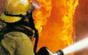 В Днепропетровской области в модульном городке для переселенцев на пожаре погиб 2-летний мальчик