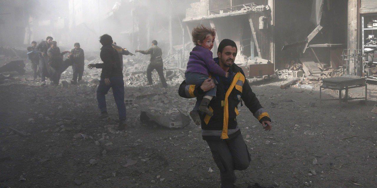 За неделю бомбардировок в сирийской Гуте погибли более 500 человек, в том числе 123 ребенка