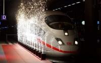 Суперпоезд из Германии сломался в первый день работы