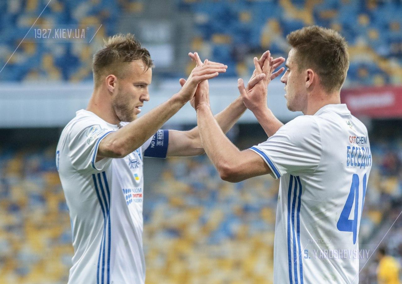 Динамо - Зирка 3-0: Видео голов матча