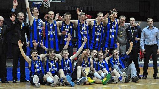 Днепр претендует на победу в Чемпионате Украины по баскетболу