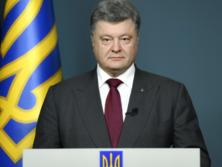 Порошенко: Из-за незаконной аннексии Крыма страна потеряла 80 процентов нефтегазоносных залежей Черного моря