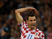 Срна сыграл больше всех матчей за сборную Хорватии