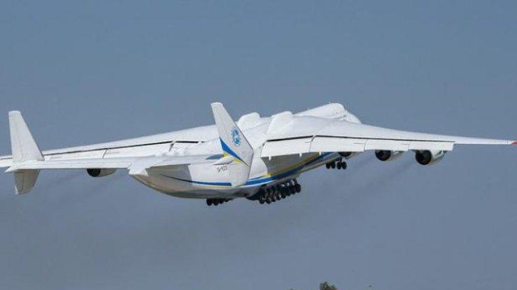 Украинская Мрия: появилось видео невероятной посадки украинского самолета-гиганта