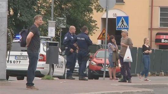 Нападение в Финляндии: погибли два человека, шестеро ранены (ВИДЕО)