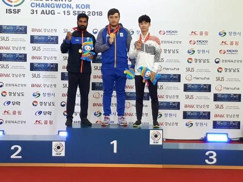 Павел Коростылев стал чемпионом мира по пулевой стрельбе