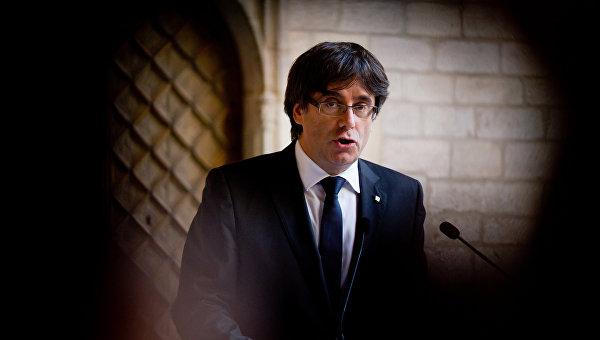 Испанский судья выдал европейский ордер на арест экс-главы Каталонии