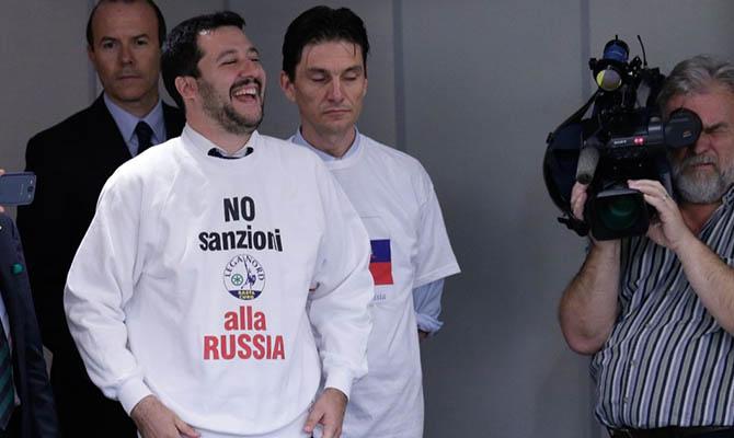 Журнал Time назвал пророссийского итальянского политика Сальвини «новым лицом Европы»