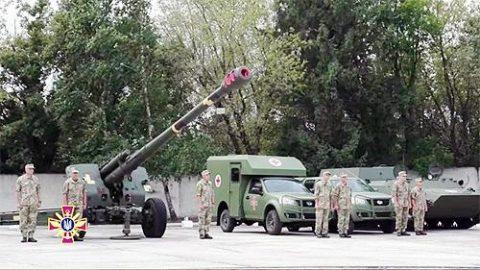 В День Независимости в Киеве покажут весь ряд военной техники завода «Богдан»