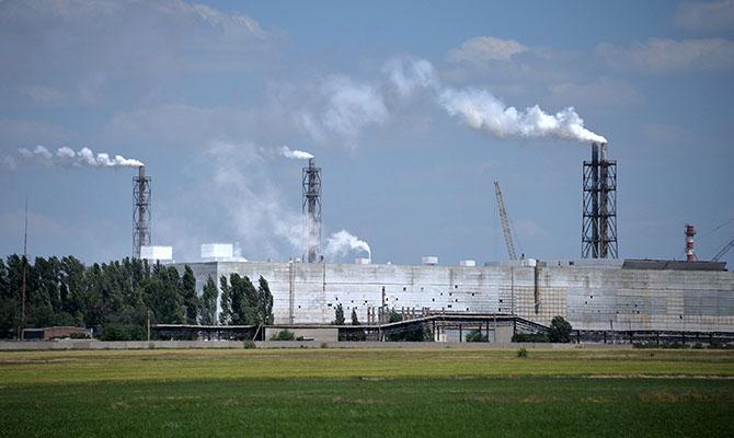 На севере Крыма зафиксировали новые выбросы химических веществ