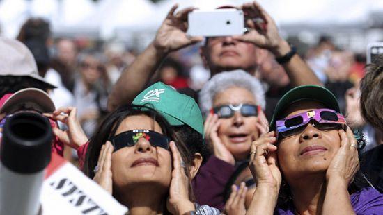 В США подсчитали убытки от солнечного затмения