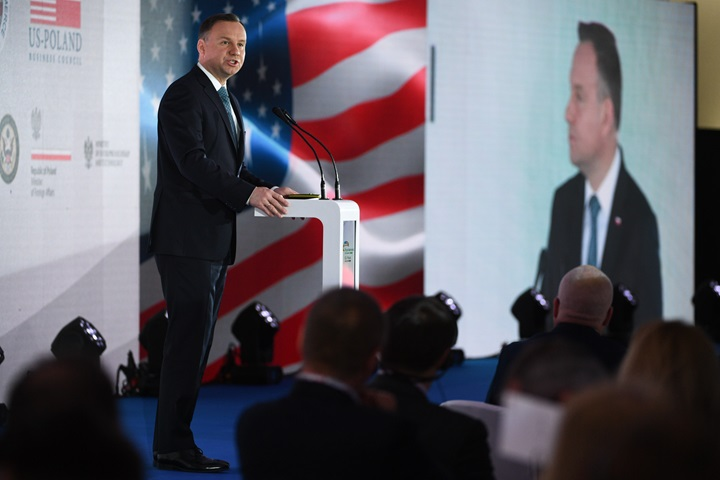 President Duda at US-Poland Business Summit