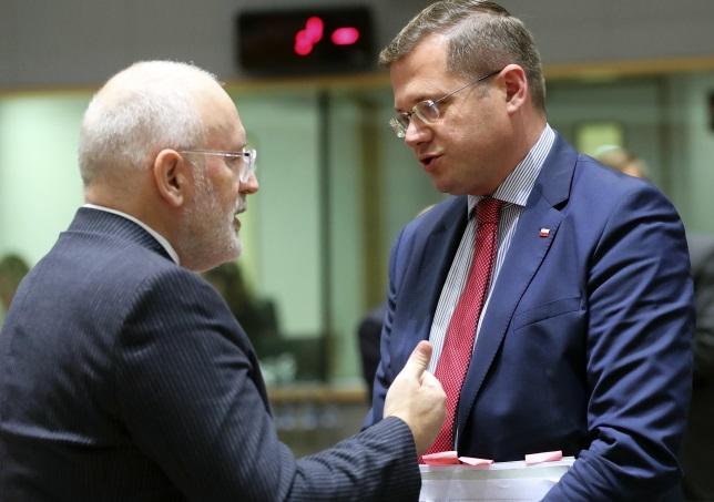 Европейская комиссия настаивает на приостановлении действия Закона о ВС Польши