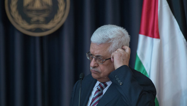 Аббас объявил о замораживании контактов с Израилем