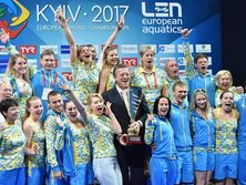 Сборная Украины возглавила командный зачет