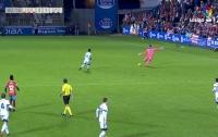 Испанский вратарь забил с 65 метров