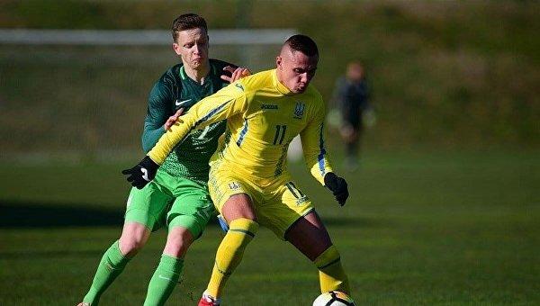 Сборная Украины U-21 по футболу победила сверстников из Словении