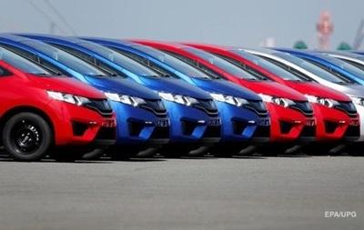 За полгода в Украину ввезли автомобилей на $1 млрд