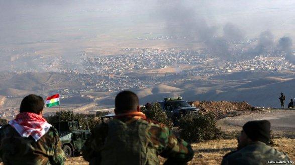 Иракская армия вынудила курдов оставить еще один район Обновлено