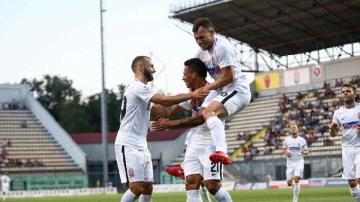 Заря сенсационно прошла португальскую Брагу в Лиге Европы