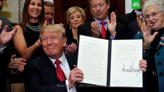 Трамп подписал указ об отмене медреформы Обамы