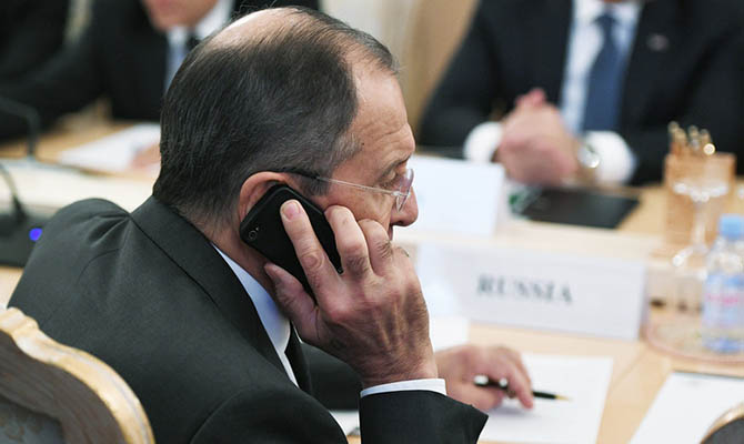 Лавров считает, что санкции США против РФ введены вовсе не из-за Украины