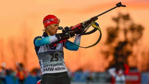 Биатлон на Олимпиаде-2018: победа Кузьминой, провал украинок
