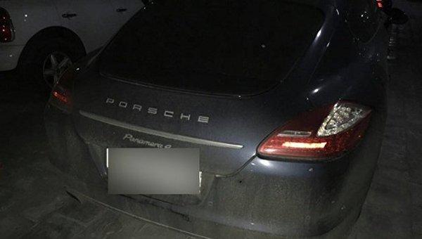 Динамовец требует возместить 1,3 млн за расстрелянный Porsche Panamera