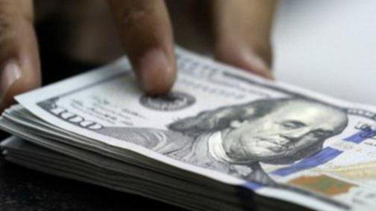 Курс доллара в Укарине вырос