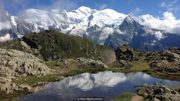 The true 'granddaddy' of the Alps