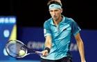 Стаховский зачехлил ракетку во втором раунде турнира в Антверпене