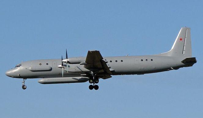 Біля узбережжя Сирії збили літак з 15 російськими військовими