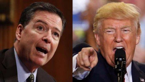 Скользкий тип, –  Трамп набросился на Коми после разгромного интервью экс-главы ФБР