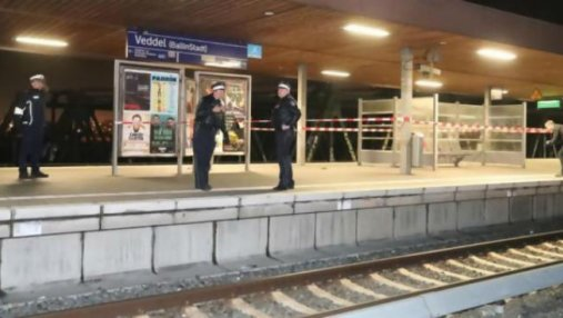 На железнодорожной станции Гамбурга произошел взрыв