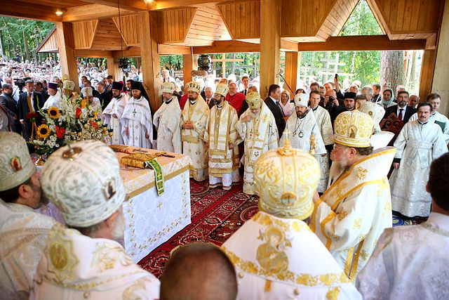 Orthodox Christians flock to Polish holy site