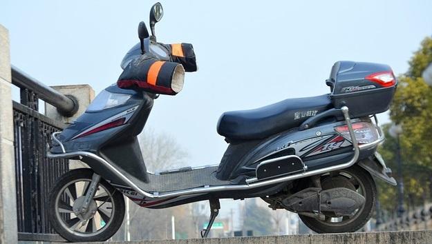 В Силезии студенты создали электрический мотоцикл