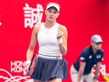 Для Ястремской это первый финал на турнирах WTA