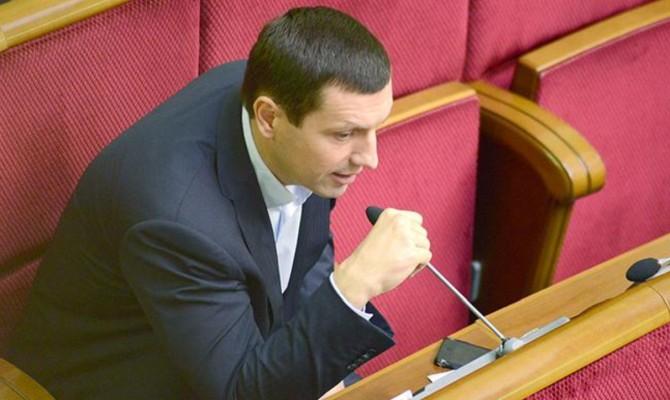 Представление о снятии неприкосновенности с нардепа Дунаева передано в Комитет Рады