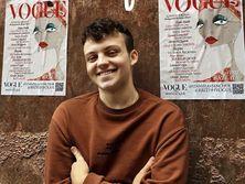Рисунок Сенчука украсил майский выпуск Vogue UK