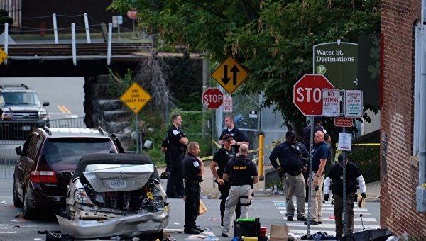 Пять пострадавших в столкновениях в Виргинии находятся в критическом состоянии